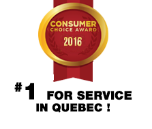 Proud Winners of the 2015 Consumers' Choice Award