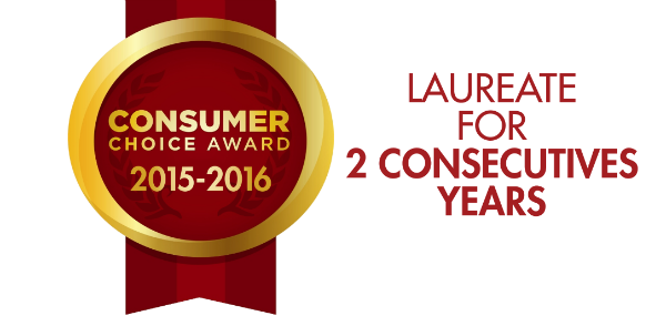 Logo Consumer Choice Award 2015-2106